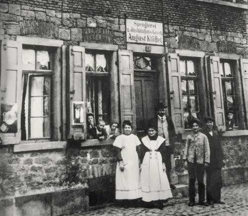 Historie Spenglerei August Klöffel 1911