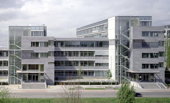 Bau des Olof-Palme-Hauses in Frankfurt, begleitend durch das Ingenieurbüro Klöffel
