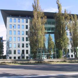 Neubau des Bürogebäudes DiBa City West in Frankfurt
