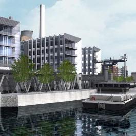 Neubau eines Bürogebäudes am Westhaften Pier mit HOAI 1-7