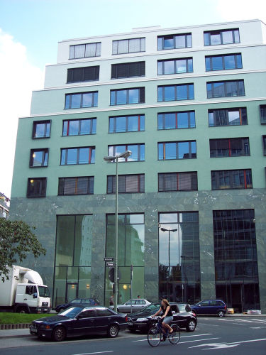 Büro-Neubau in Frankfurt