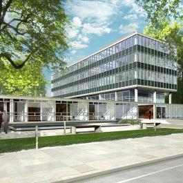Sanierung des Siesmayer Bürogebäudes in Frankfurt am Main