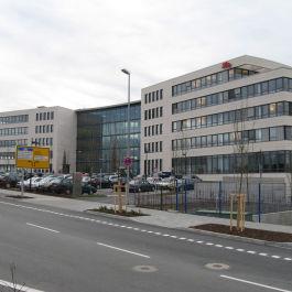 Neubau des Bürogebäudes von Lilly in Bad Homburg mit den Leistungsphasen 1-7