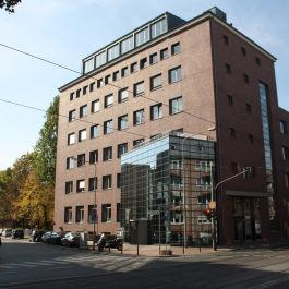 Bürogebäude in der Voltastraße in Frankfurt