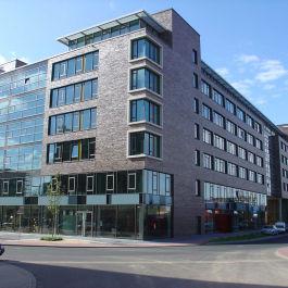Das Ingeniuerbüro Klöffel plante Leistungsphasen für das Accent Office Center in Frankfurt