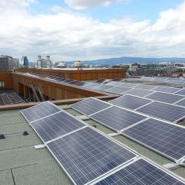 Leistungsplanung für die Solaranlage des Goldenen Hauses in Frankfurt