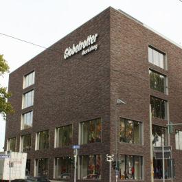 Neubau des Globetrotter Geschäftgebäudes