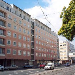 Sanierung des Steigenberger Maxx Hotels in Frankfurt. Die Leistungsphasen-Planung erfolgte durch das Ingenieurbüro Klöffel.