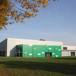 Sanierung der Turnhalle, Heinrich-Böll-Schule in Bruchköbel