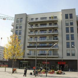 Wohnungsneubau im Europaviertel in FFM