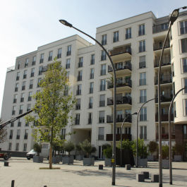 Zinshaus im Europavirtel in Frankfurt